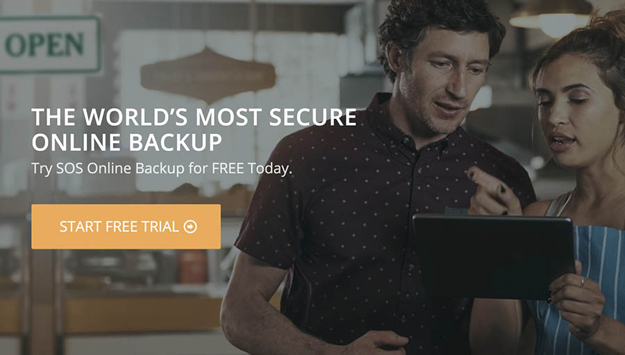 SOS Online Backup apps for small business